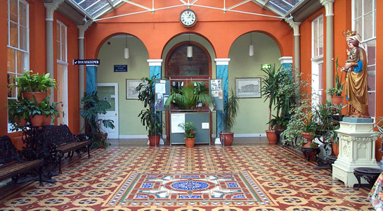 Bar Convent Entrance hall